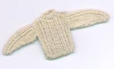 how to: knitted mini cable sweater by Lia's miniatures