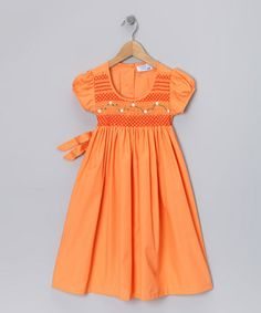 I'm totally going to put my little girl in these dresses even when she comes home with mud on it...
