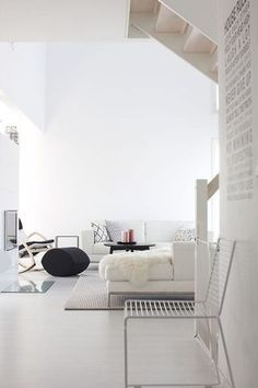 minimal // simple // open and bright // #interior #decor #details