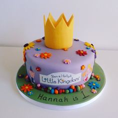Ben and Holly's Little Kingdom - Cakes By Siobhan Cakes By Siobhan