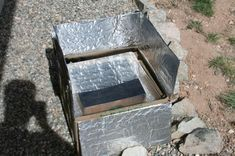 DIY Solar Oven for $1.50. if the world ever ends, this would be good to know!
