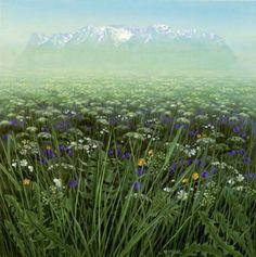 Jan Harr, my favorite artist Art Pieces, Artsy, Contemporary, Mountains, Plants, Travel, Kunst, Viajes, Artworks