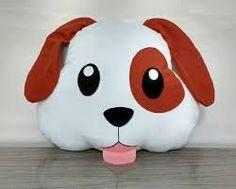 Resultado de imagen para almofada com cara de cachorro Cute Pillows, Mignonne, Softies, Sewing Pillows, Pet Shop, Sewing Toys, Fabric Dolls, Beagle, Cool Toys