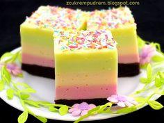z cukrem pudrem: ciasto Optymisty Sweets Cake, Cookie Desserts, Cupcake Cakes, Sweet Recipes, Cake Recipes, Dessert Recipes, Jelly Cake, Layered Desserts, Beautiful Desserts