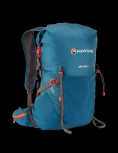 Ultra Tour 22 Pack by Montane®  A great daypack that is light and flexible.  Rolltop closure means you can stuff more than the rated 22 litres. f5818b739e