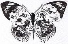 Butterfly Template   January   2011   libertadelocura