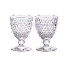 ビレロイ&ボッホ ボストン ペアワイングラス 3,000円