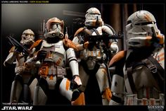 Star Wars - Commander Cody and the  212th Airborne Clones