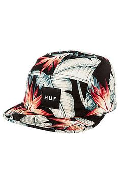 HUF Hat Birds of Paradise 5 Panel in Black $30 USE CODE NEWGEAR14 for 20% OFF!