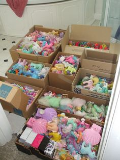 pony packing party.