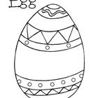 Coloring page, pre-writing sheet, and Good Egg craft template. Enjoy!...