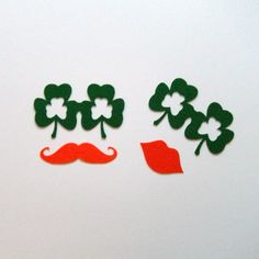 Photobooth prop KIT on a stick Mr. St. Patty. $8.00, via Etsy.