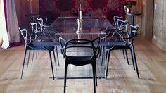 """We weren't born just today. There have been masters before us,"" said Philippe Starck in 2009, referencing the linear profile of his Masters Chair  for Kartell"
