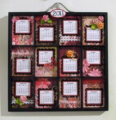 Calendar tray - BG Indian Summer