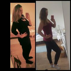 Weihnachten 2015 links Ostersonntag 2016 rechts  #me #woman #Girl #Easter #german #Germany #like4like #Kiel #family #Fitness #EatClean #lowcarb by fight_lay