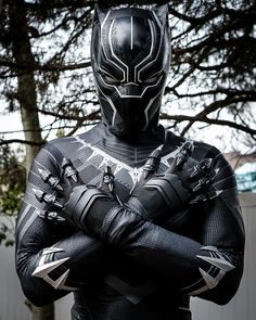 """""""The Black Panther has been a protector of Wakanda for generations. A mantle passed from warrior to warrior. Now because your friend murdered my father I also wear the mantle of king."""" - T'challa (I FINALLY HAVE THIS COSPLAY DONE!!) . . . . . . (Photo Taken by: @cirquedusolrae) (Edited by me:) . . . . #wakanda #wakandaforever #marvel #marvelheroes #marvelcosplay #mcu #marvelcinematicuniverse #BlackPanther #BlackPanthercosplay #cosplay #cosplayers #InfinityWar #rpcstudio"""