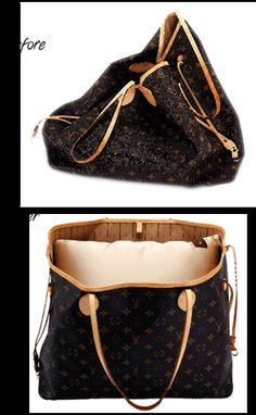 4 different sizes that fits all designer handbags www.BagAvie.com