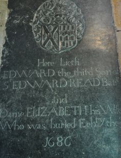 https://flic.kr/p/cJH67G | Shipton-under-Wychwood-212 St Mary  Reade monuments south chapel floor http://www.bwthornton.co.uk/visiting-stratford-upon-avon.php