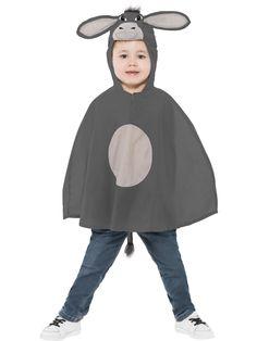 Childrens Little Donkey Poncho - 39793 - Fancy Dress Ball