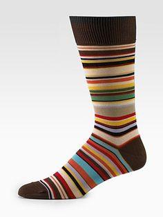 Paul Smith  Classic Striped Socks