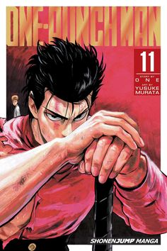 One-Punch Man volume 11 features story by ONE and art by Yusuke Murata. While Saitama's distracted at a martial arts tournament, Centichoro, a threat-level Dragon monster, attacks! Metal Bat engages it in battle but struggles against its gargantuan size. The monster knocks him into the distance and right into the path of hero-hunter Garo!
