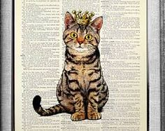 Image result for vintage posters cats