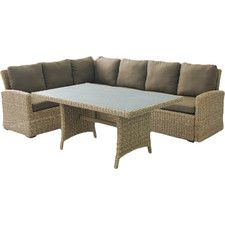 Eustis 9-Piece Deep Seating Sectional with Cushion