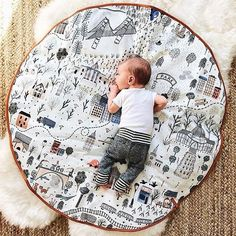 Tummy time looks so good with Play Mats! tap to shop! Baby Room Rugs, Baby Boy Rooms, Baby Bedroom, Baby Boy Nurseries, Baby Room Decor, Activity Mat, Baby Sewing Projects, Baby Gym, Toddler Gifts