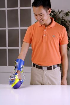The SaeboFlex allows individuals suffering from neurological impairments such as stroke the ability to incorporate their hand functionally in therapy and at home by supporting the weakened wrist, hand, and fingers. The SaeboFlex is a custom fabricated orthosis that is non-electrically based and is purely mechanical #StrokeRehab #OT #OccupationalTherapy