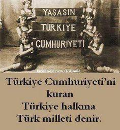 Yaşasın Türkiye Cumhuriyeti