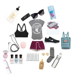 """hiking!"" by hannahsanson on Polyvore"