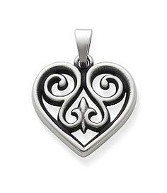 James Avery Small French Heart Charm