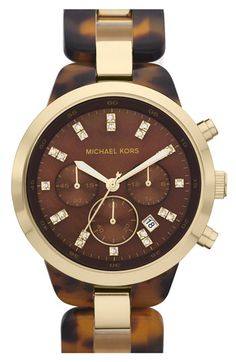 Michael Kors 'Showstopper' Chronograph Bracelet Watch available at #Nordstrom