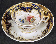 Antique Spode Tea Cup & Saucer  I've Always love this pattern  I wanted to be a Paintress in Stoke on Trent when I was a girl