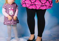 Nähfrosch Nähen DIY Ringel Stoff von Astrokatze aus der Erdlöwen Serie Raglankleid Schnitt von Klimperklein Plotterdatei Einhorn von KleineGöhre