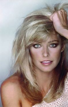 Farrah Fawcett was lovely to look at...