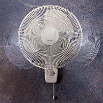 """NEW 16"""" Oscillating Wall-Mount Fan (Indoor & Outdoor Living)"""