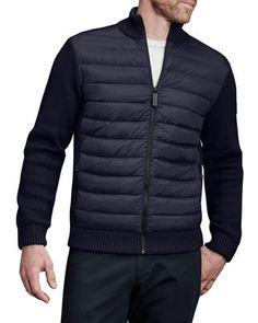 canada goose dunham jacket blue
