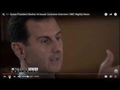 Assad vs puppet Belgian media 2-7-17 (تصريح الرئيس الأسد لوسائل إعلام بلجيكية) - YouTube