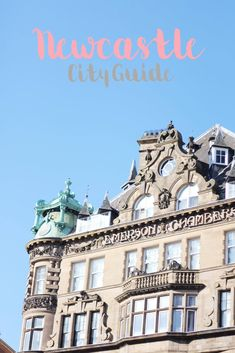 The Girl In The Bowler Hat : Newcastle City Guide with New Look Student Hub