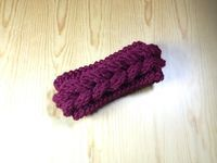 How to Easy Loom Knit a Braided Headband. Ear Warmer (DIY Tutorial), My Crafts and DIY Projects