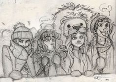 Cheering for Gryffindor [Dramione] by CaptBexx.deviantart.com on @deviantART
