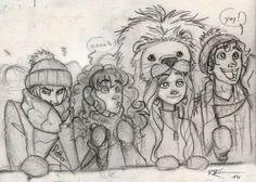 Cheering for Gryffindor [Dramione] by CaptBexx.deviantart.com on @deviantART