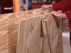1000 images about workshop lumber racks on pinterest for Sheet goods cart