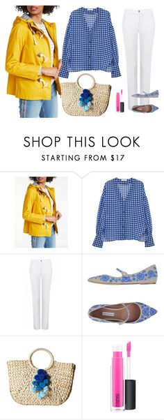Whitby Waterproof Jacket on Polyvore featuring MANGO, Boden, Tabitha Simmons, Hat Attack and MAC Cosmetics