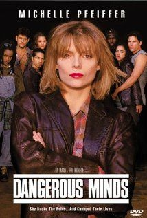 "Dangerous Minds (1995): My Educational Psychology instructor at UNCW had our class watch several ""teacher"" movies and analyze the pedagogy evidenced in the film.  (Yes, we had to write a paper on it!)  This was a class favorite, along with  Stand and Deliver (1988), and Lean on Me (1989).  Freedom Writers (2007) would be a great addition to the exceptional-educator example canon! ~M"