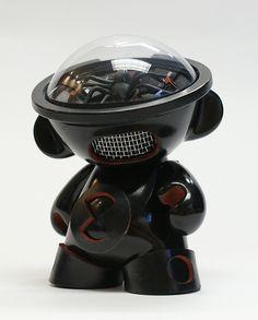 Munny Black Widow 1, via Flickr.
