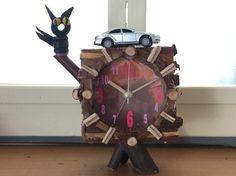 Handcraft remade clock