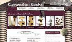 Featured site of the day : 16-August-2012  Katzenkratzbaum Ratgeber http://www.cssvilla.com/katzenkratzbaum-ratgeber/