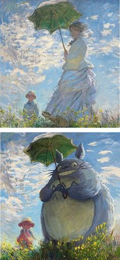 What if beloved fantasycharacterswere the stars ofclassical paintings?